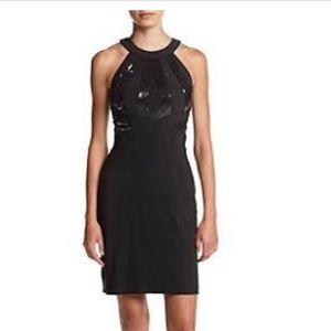 Morgan & Co•Body Con Sequin Top Dress